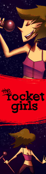 the rocket girls | three girls in space. what could go wrong?